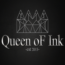 Queen oF Ink LOGO
